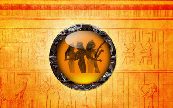 египетский, картинка, art