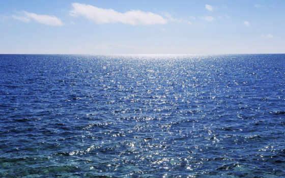 гладь, морская, море, свет, water, просторы, морские,