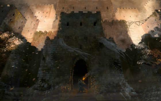 fantasy, замки, castle