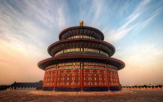 храм, heaven, beijing, china, город, was,
