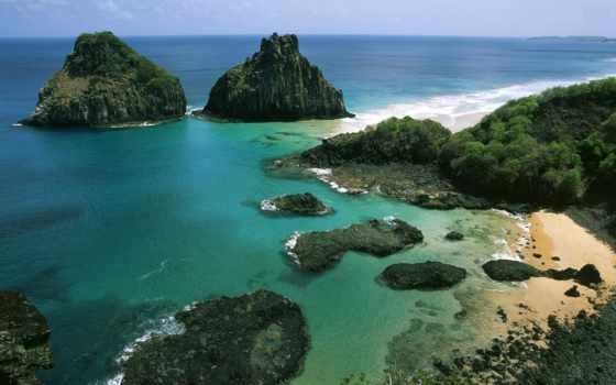 noronha, фернандо, ipad, моментальный, морские, world, waves, ocean, бразилии, пейзажи -, архипелаг,