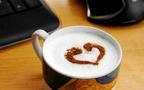 coffee, love, работать, drinks, пенка,