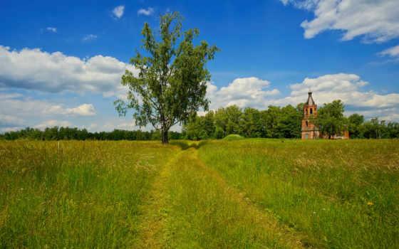 храмы, трава, природа, demianszewa, природы, пейзажи -, desktop, temples, summer,