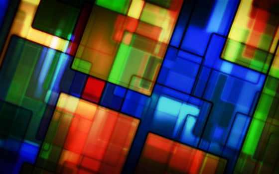 квадраты, тона, abstract, разноцветные,