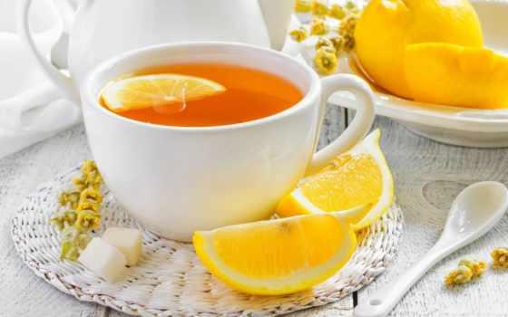 лимоном, чая, чая, cup, счастье,