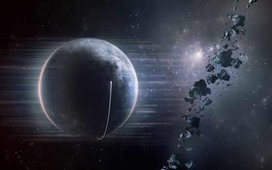 планета, астероиды Фон № 24268 разрешение 1920x1075