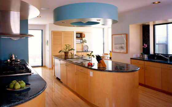 kitchen, design, island