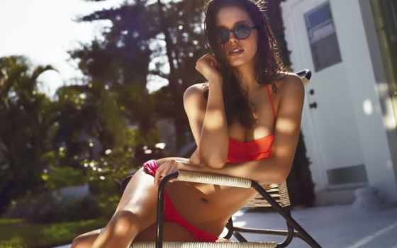 emily, didonato, американский, oysho, модели, впервые, красавица, выступила, campaigns,