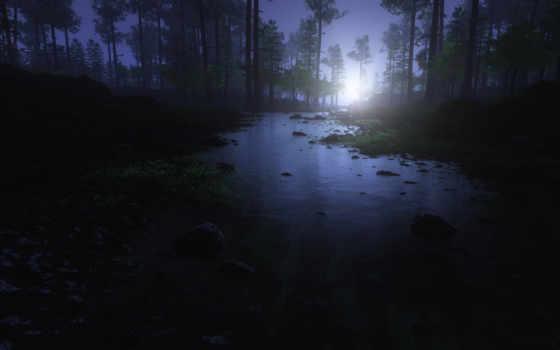 природа, iphone, фоны, photoshop, природы, фотошопа, закат,