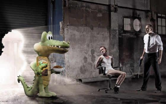 تبلیغاتی, крокодил, creative, calle, mixed, юмор, креативные, печенье, бандиты, склад, inspiration, croc, big, ads,