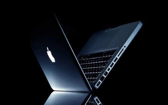 macbook во тьме