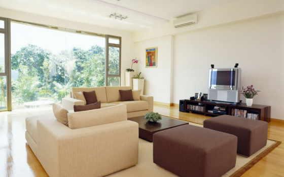 интерьер, диван, комната, квартира, окно, гостиной, кресло,