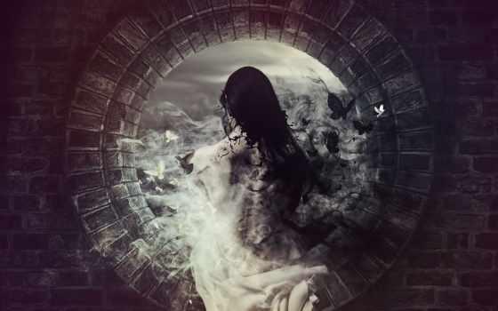 душі, две, есть, чёрного, белое, без, стороны, цифеi,