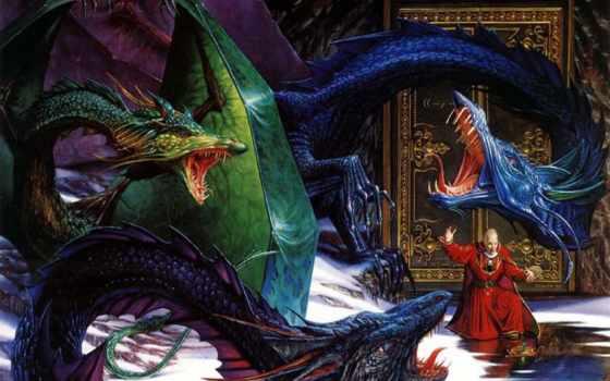 драконы, дракон, богатства, дракона, их, относятся, драконы, охраняют, online, puzzle,