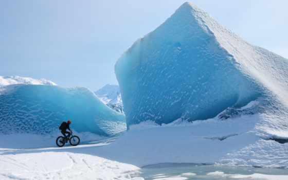 земли, ледники, необыкновенные, самые, glacier, есть,