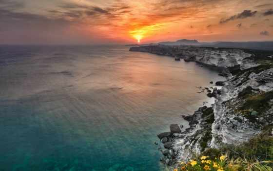 закат, море, вопрос