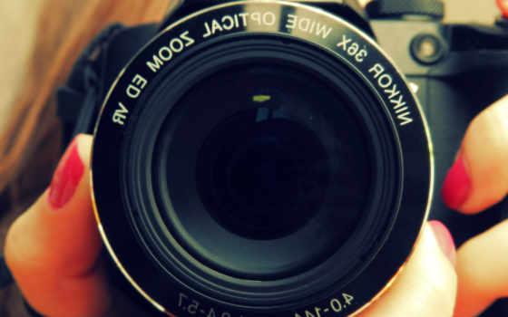 фотоаппарат, photos, объектив, nikon, see,
