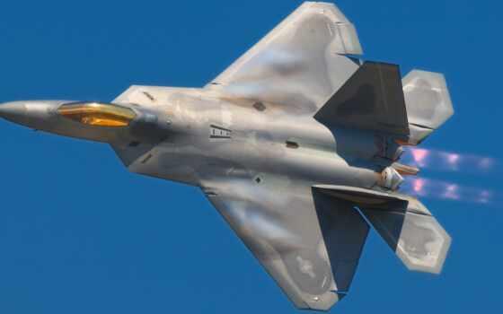 raptor, истребитель, war, палуба, plane, lockheed, американский, sou, военный