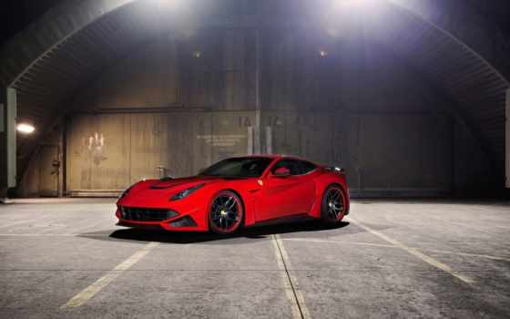 ferrari, red, berlinetta, novitec, автомобили, роскошные, rosso, картинка,