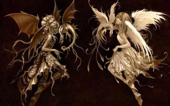 ангелы, демоны, зодиака