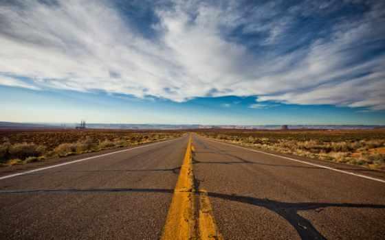 дорога, монументов, природа, об, нас, долины, флагстаффа, четырёх,