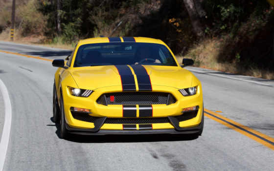 ford, mustang, shelby, yellow, cars,
