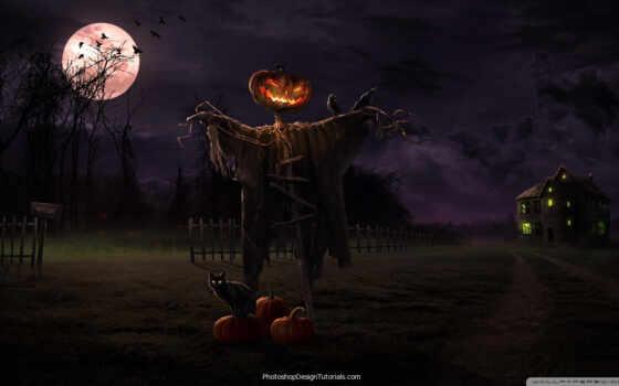 halloween, desktop, spooky