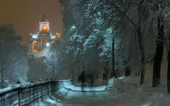 winter, часть, красивая