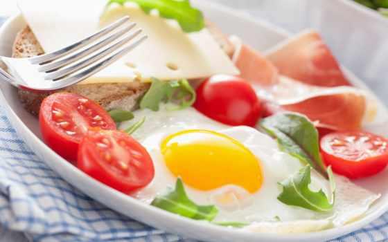 еда, картинка, хлеб, помидоры, яичница, яйца, напитки, продукты, семейного, мясные, просмотра,