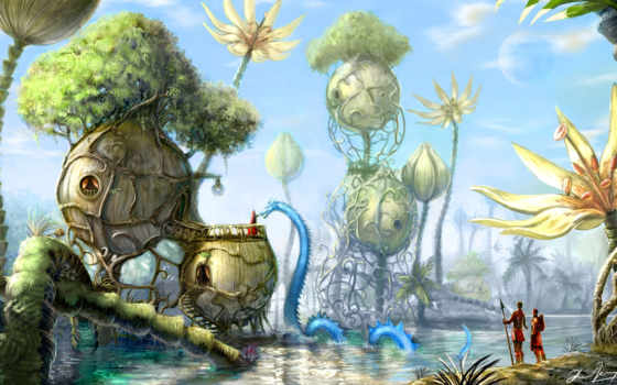 fantasy, art, creature