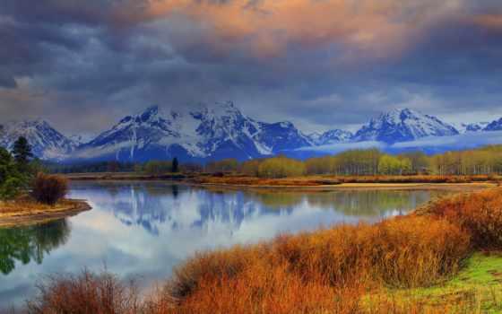 горы, небо, облака Фон № 77164 разрешение 2560x1600