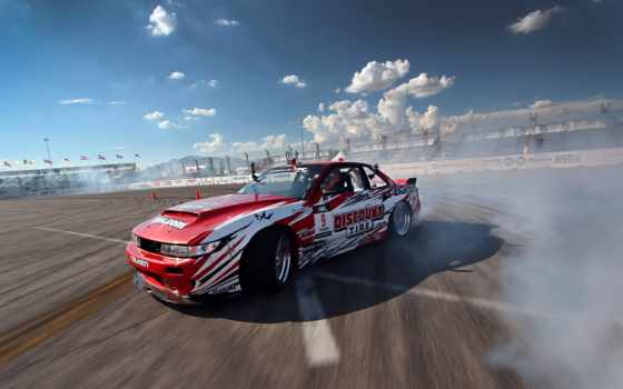 nissan, silvia, drift, sx, clouds, red, конкурс, тюнинг, дым, youtube,