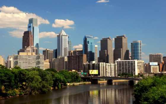 philadelphia, филадельфии, pennsylvania, автомобилей, город, робинзон, rent,