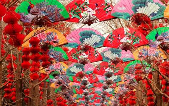 год, new, beijing, китаянка, улицах, фонарики, пекина, об, китае, facts,