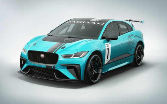 jaguar, pace, etrophy, cars, electric, racecar,
