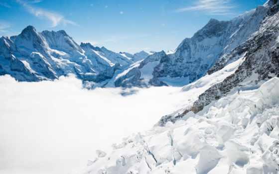 альпы, год, гора