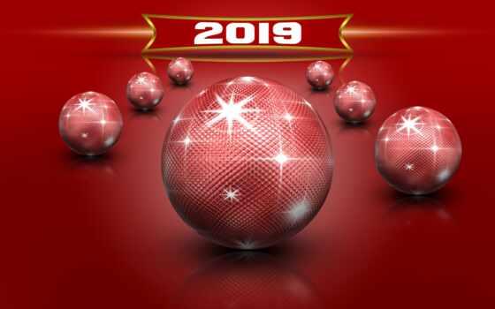 new, год, christmas, мяч, star, red, shirokoformatnyi, tema, сфера, toy, branch