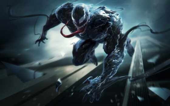 venom, яд, паук, marvel, human, масть, veno, art, композиция, awesome, upload
