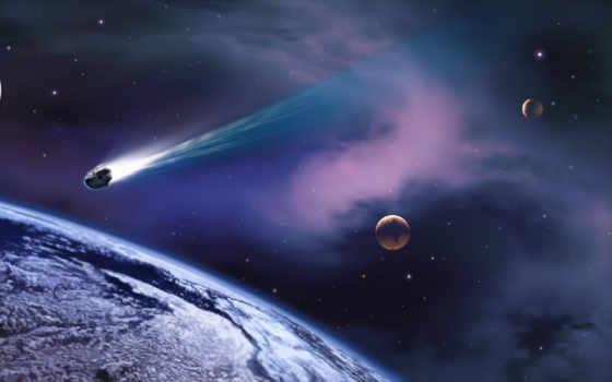метеорит, space