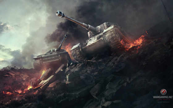 тигр, world, tanks