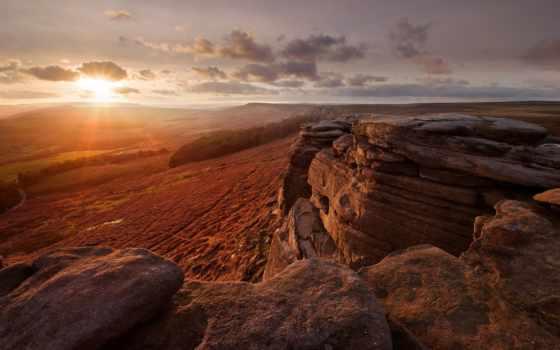 природа, landscape, закаты, рассветы, rock, картинка, ibiza, sun, море, озеро, испания,