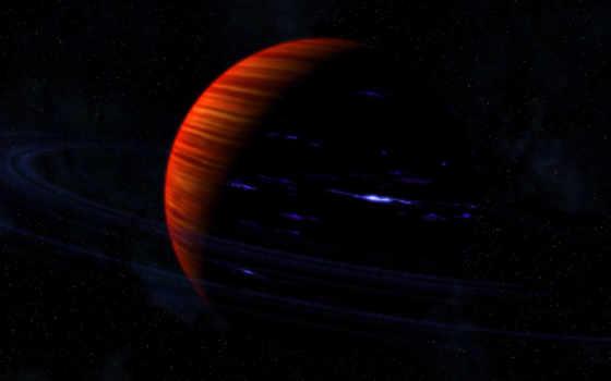 планета, кольца Фон № 15794 разрешение 1920x1200