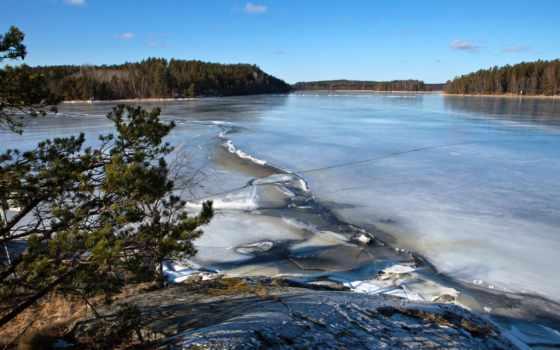 sweden, природа, река