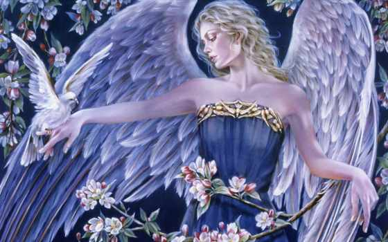 angel, fantasy, angels Фон № 136485 разрешение 2400x1800