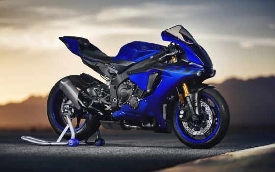yamaha, yzf, мотоциклы, bikes, motorcycles, обновленные, blue,