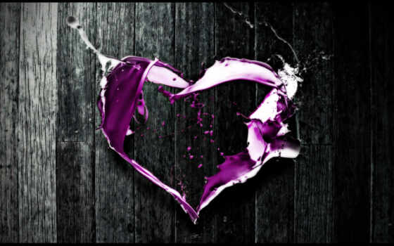 love, purple
