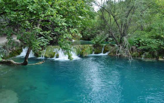 jezera, plitvicka, plitvice, хорватия, park, national, free,