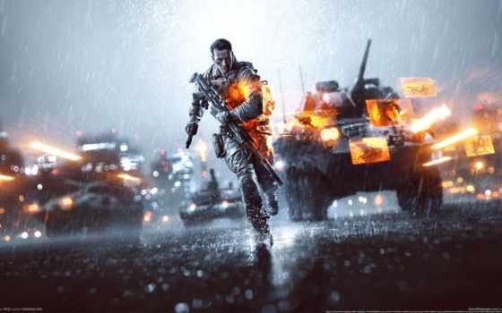 battlefield, оружие, солдат, винтовка, run, снайперская,