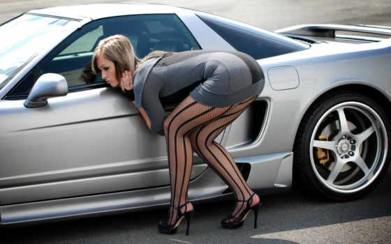 stockings, авто, каблуки, девушка, booty, поза, туфли, кб, кардан, чулках, devushki,
