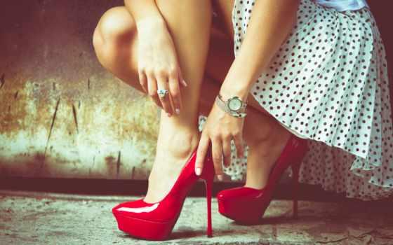 high, heels, red, каблук, sepatu, туфли, shoe, legs,